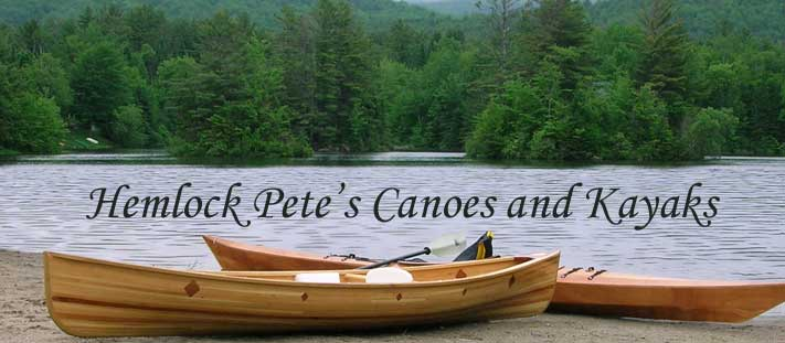 Hemlock Pete's Canoes and Kayaks Blog