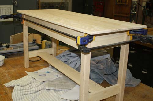 Piano bench (under construction) - white ash